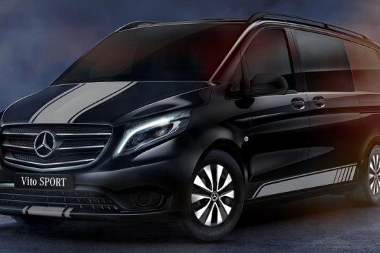 Mercedes-Benz Vito Sport sudah bisa dipesan di Inggris