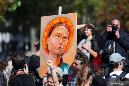 """""""Kami memberontak"""": Aksi global para siswa untuk lawan perubahan iklim"""
