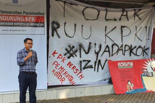 Civitas academica Paramadina ingatkan Jokowi bahaya pelemahan KPK