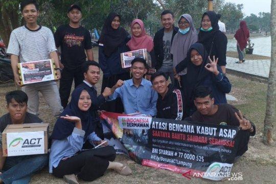 ACT Lampung ajak komunitas galang dana untuk korban kabut asap