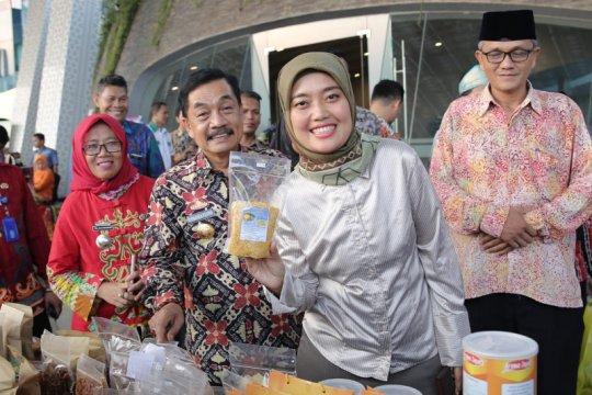 Wagub apresiasi produk UMKM Lampung pada Expo Kedaulatan Pangan