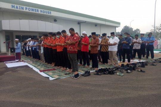 Komunitas Bandara Sultan Mahmud Badaruddin II gelar Shalat Istisqa