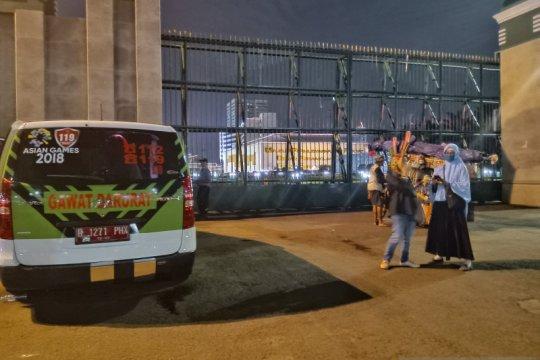 Demo tolak RUU-PKS di depan DPR berakhir, arus lalin berangsur normal