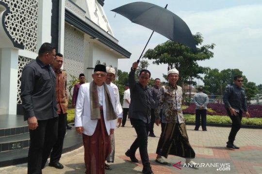Ma'ruf Amin berpesan agar NU merumuskan tantangan agama dan negara