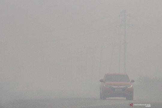BNPB: asap karhutla dari sumatera dan kalimantan kumpul di Pekanbaru