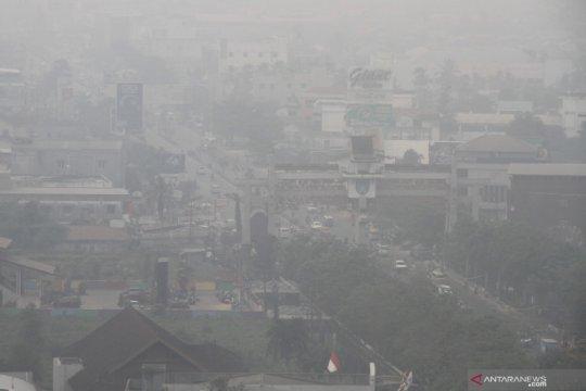 Kualitas udara di sejumlah daerah masih berbahaya