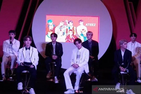 ATEEZ gugup sekaligus senang akan tampil perdana di Indonesia