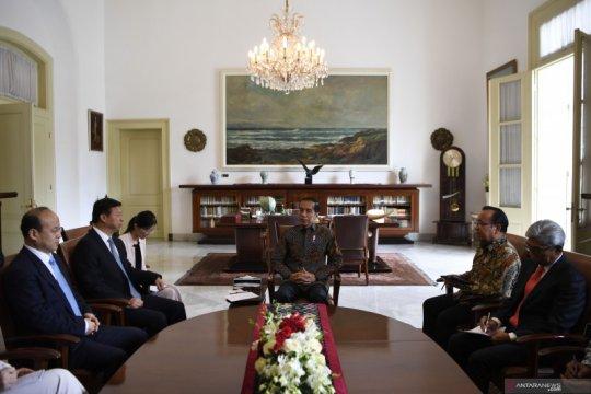 Jokowi terima Penasehat Presiden Xi Jinping, bahas kerja sama ekonomi