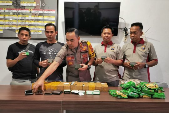 Polres Parepare amankan 6.000 buah detonator