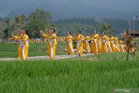 Pembukaan festival Jatiluwih di Bali