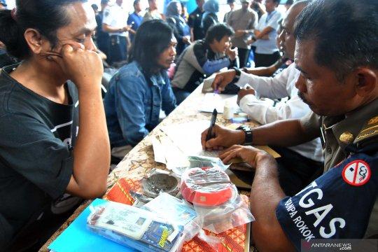 Penindakan bagi pelanggar kawasan tanpa rokok