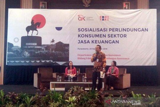 OJK sosialisasikan mekanisme pengaduan masalah untuk lindungi konsumen