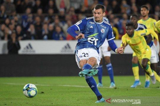 Strasbourg akhirnya petik kemenangan perdana, Nantes jadi korban