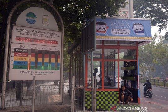 11.268 orang terkena ISPA di Pekanbaru akibat asap karhutla
