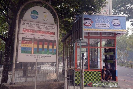 1.182 titik panas karhutla terpantau di Sumatera