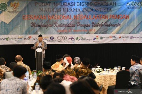 Ma'ruf Amin canangkan gerakan kedaulatan pangan