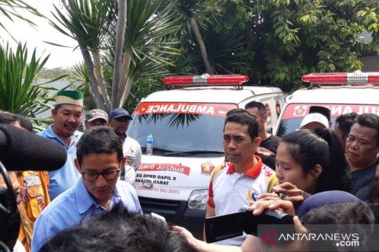 Sandiaga: pelayanan kesehatan warga Jakarta masih memprihatinkan