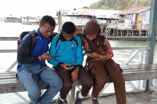Masyarakat Misool Raja Ampat gembira hadirnya jaringan internet