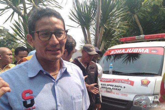 Sandiaga mengaku masih nyaman ngobrol politik dengan Prabowo