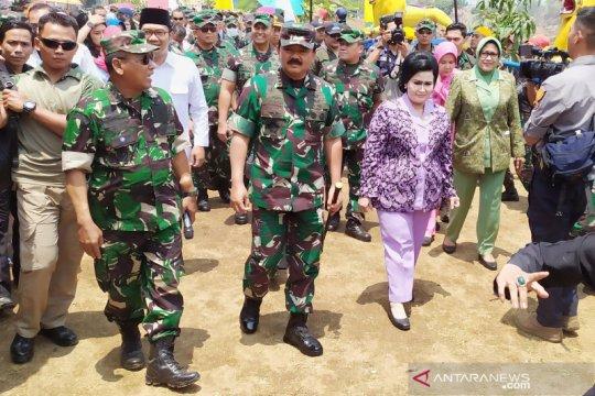 Panglima TNI: Proses pembersihan Citarum sudah 40 persen