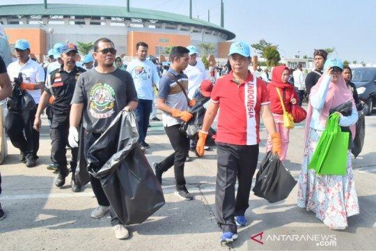 Jadi sorotan Iriana Jokowi, kini warga Bogor aksi World Cleanup Day