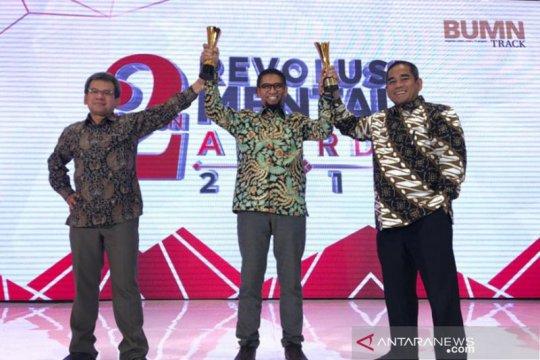Pelindo IV raih penghargaan Revolusi Mental 2019