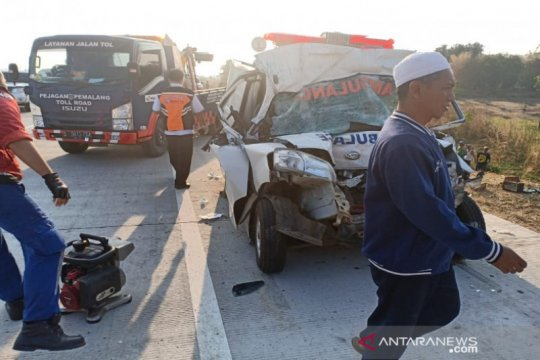 Polres Slawi belum tetapkan tersangka kecelakaan Tol Pejagan-Pemalang