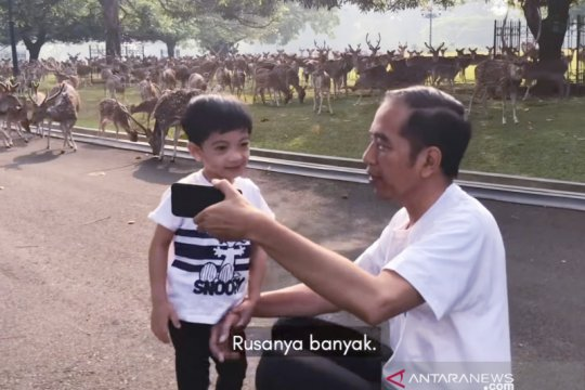 "Ketika Jan Ethes jalan pagi bersama ""Mbah Jokowi"""