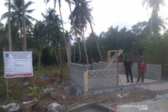 Rumah singgah dibangun di Desa Lubuk Besar Bangka Tengah