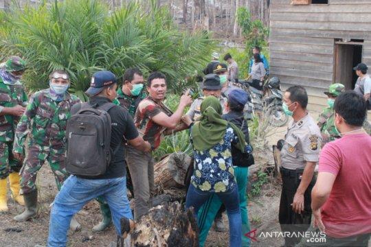 Polres Batanghari tangkap 22 terduga pelaku pembakaran hutan