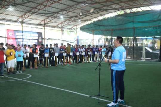 Kadiv Humas Polri Cup diharapkan pererat semangat kebersamaan jurnalis
