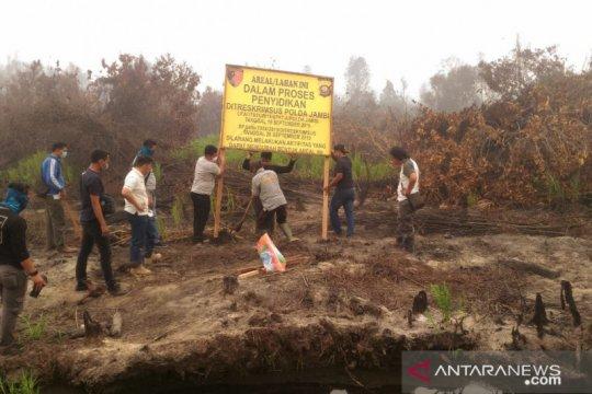 Polda Jambi tangani 12 perusahaan perkebunan terlibat karhutla