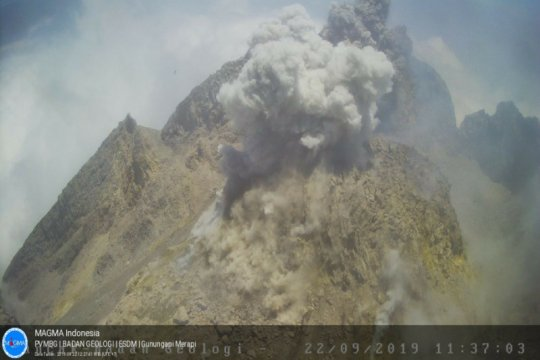 BPBD Sleman: Awan panas Gunung Merapi akibatkan hujan abu