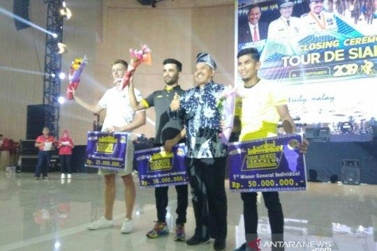 Tour de Siak, pebalap Malaysia juara umum dan Jepang tim terbaik