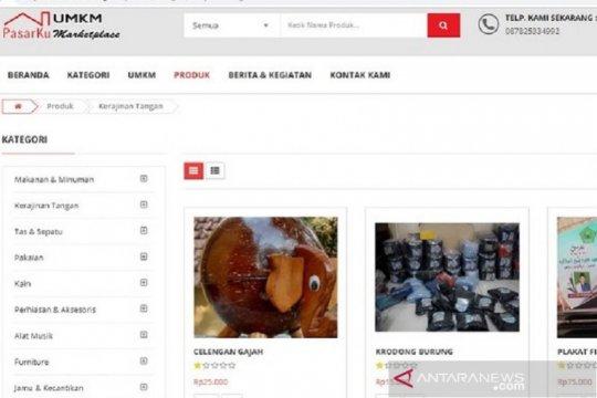 Dinas Pasar Kudus ajak masyarakat kunjungi situs pasar daring UMKM