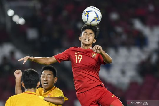 China lolos ke Piala Asia U-16 usai imbangi Indonesia 0-0