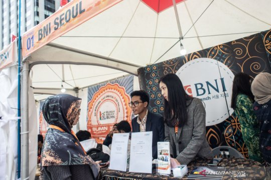 BNI semarakkan Festival Indonesia di Korsel