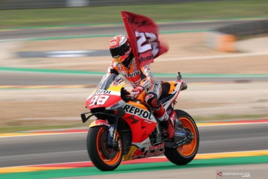 Marquez juara GP Aragon