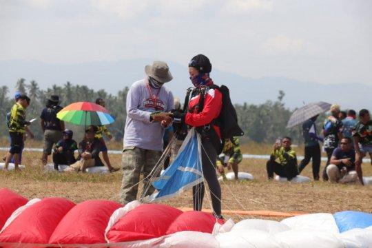210 atlet bertarung di Pra PON Terjun Payung