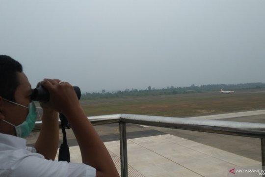 Kabut asap belum ganggu penerbangan di Bandara Minangkabau