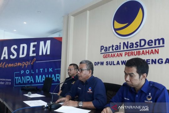 NasDem tidak buka pendaftaran Bacagub Sulteng pilkada 2020