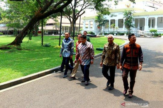 Pimpinan DPR RI bertemu Presiden Jokowi