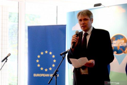 EU optimistis Indonesia akan tingkatkan penanggulangan perubahan iklim