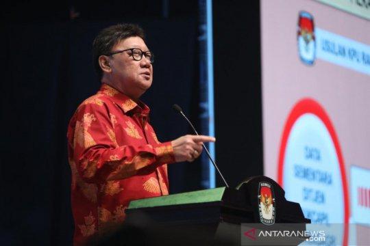 Menteri dalam negeri koordinasi KPU tunda SK Pemilihan Pimpinan DPRD