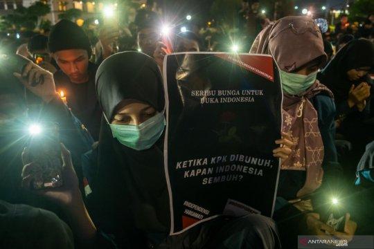 Ribuan mahasiswa se-Bintan tolak revisi UU KPK