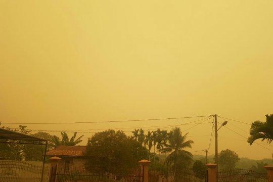 Pengusaha kecil di Jambi keluhkan kabut asap