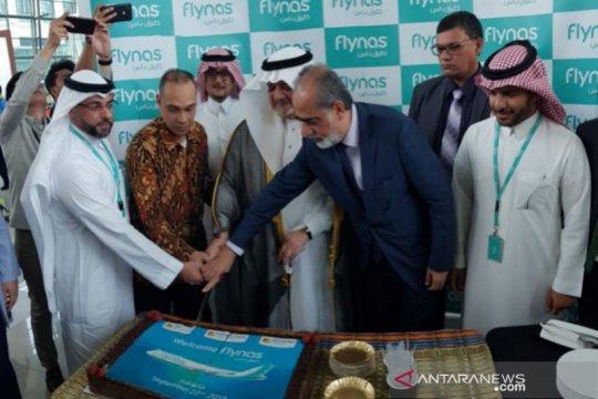 JAS tangani penerbangan maskapai arab Saudi Flynas Airlines