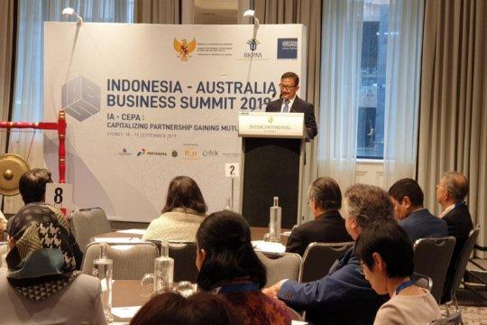 Kemitraan komprehensif jadi era baru kerja sama ekonomi RI - Australia
