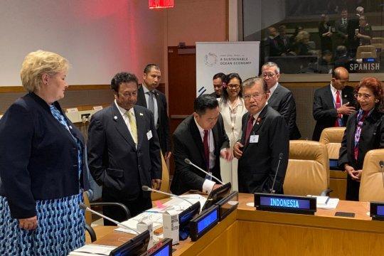 Hari pertama UN HLM, Wapres JK sampaikan empat pidato