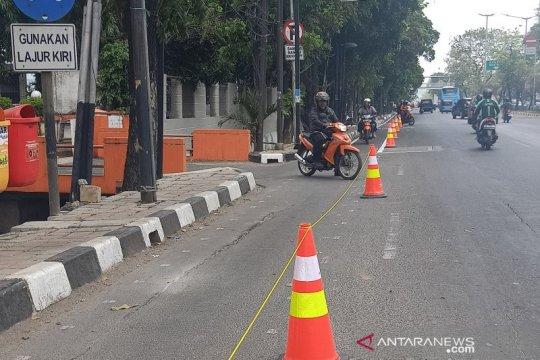 Polisi belum bisa tindak penerobos jalur sepeda di Jakarta